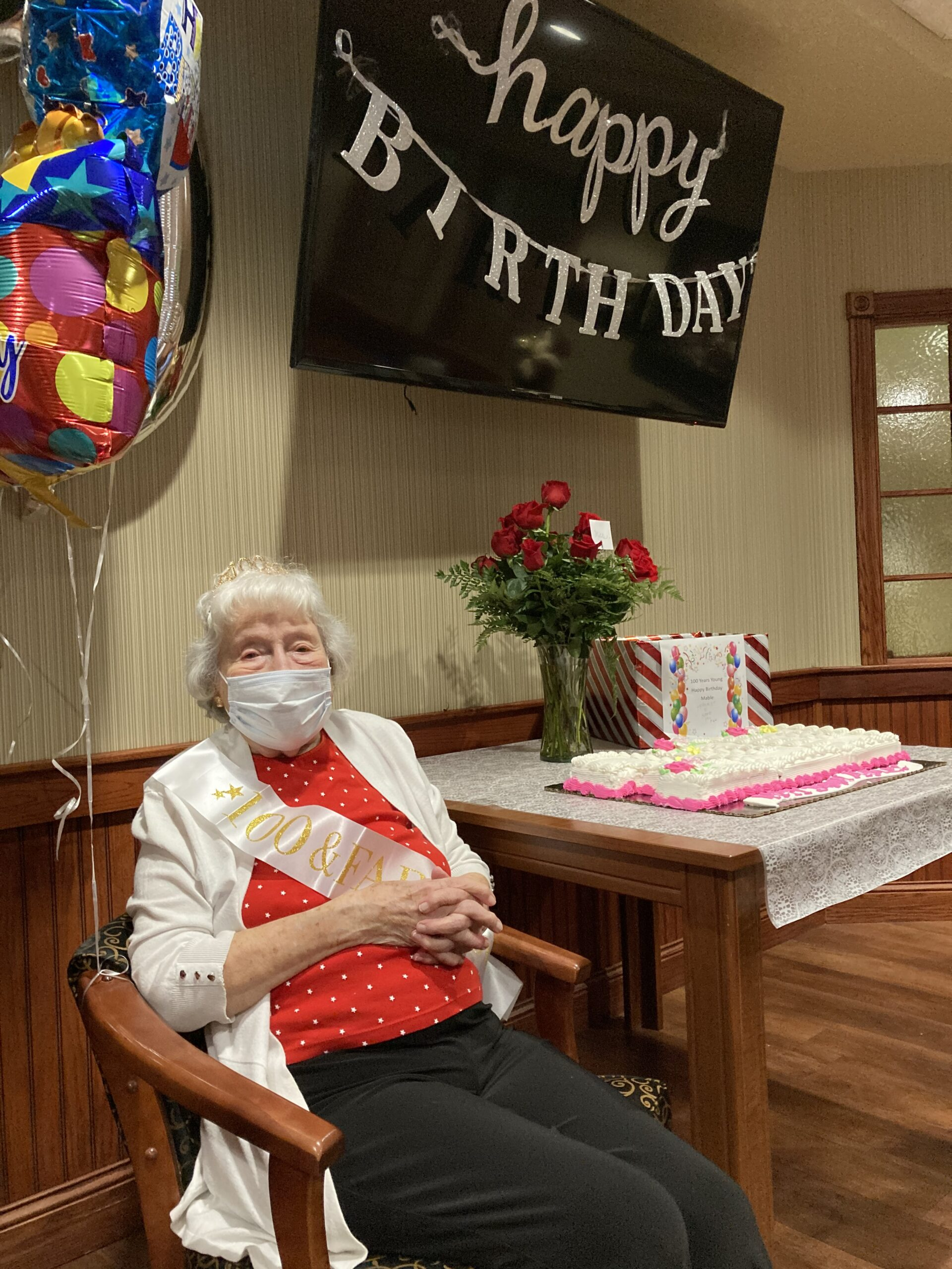 Mable celebrates her 100th birthday!
