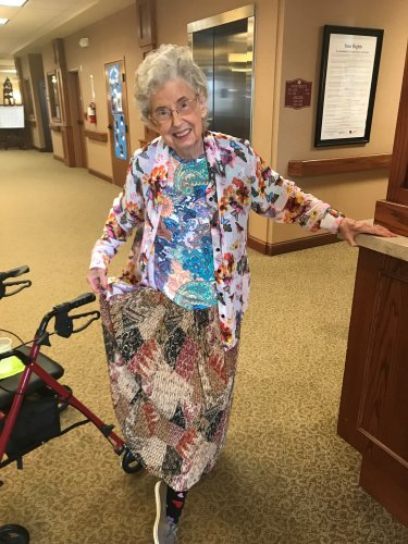 Best Mismatched Award goes to Ruth! Way to get into spirit week at the KC Primrose!