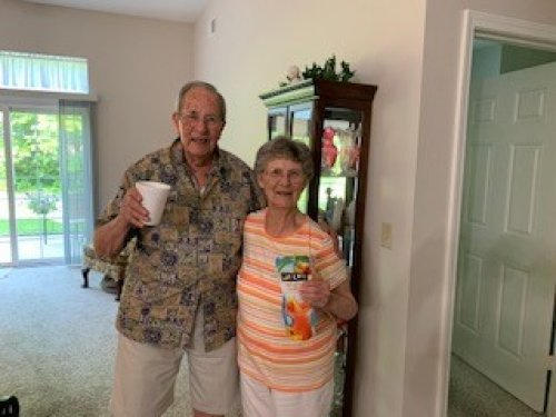 Today Duane and Helen are celebrating 73 years of marriage! Still going strong and living life to the fullest!