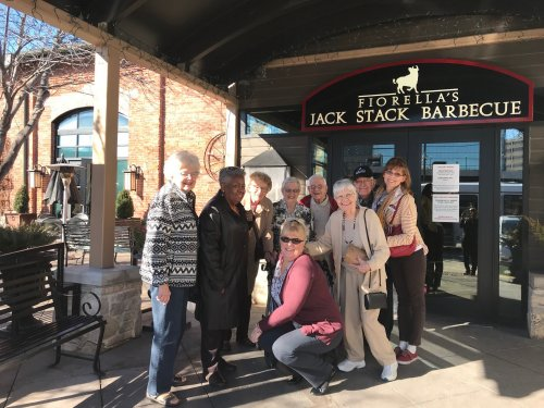 Wonderful day to be out for lunch at Jack Stack BBQ here in KCMO.