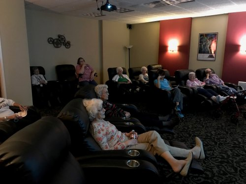 The first Primrose senior university was a great turn out! Love being in the theater relaxing while learning!