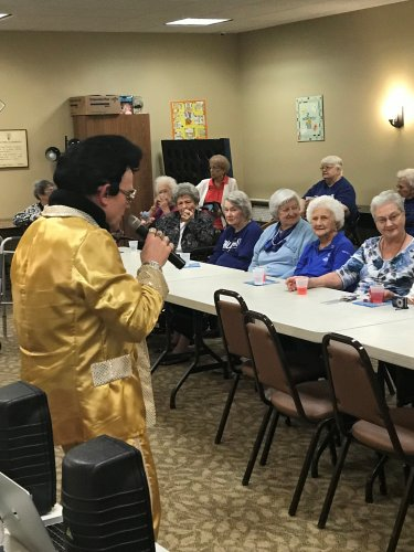 Elvis is still alive and going strong!