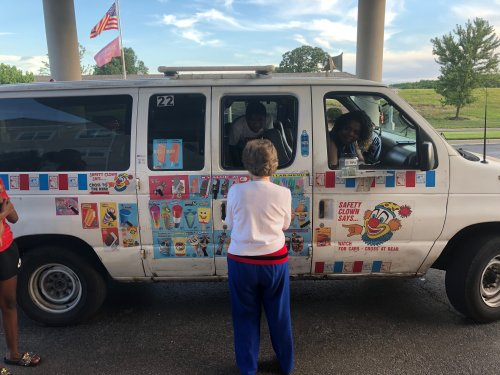 The Ice Cream Truck was here to spread treats to everyone