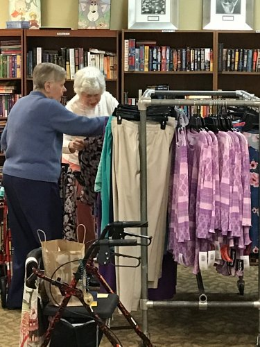 Our ladies love to shop! Bonsworth clothing comes to help build their spring wardrobe