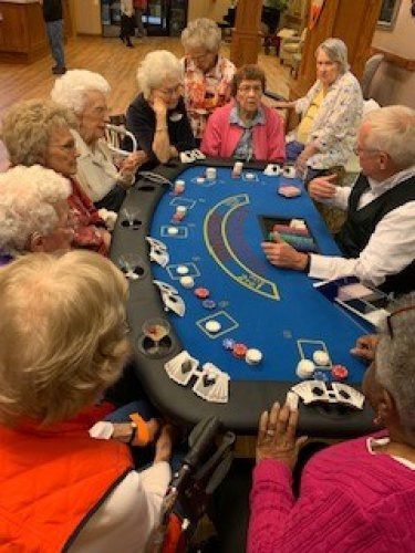 Everyone loved Casino night!  It will become a regular thing here at Primrose in KC.
