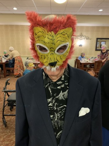 Our VIP Dinner was a huge hit.  Everyone loved the mask!
