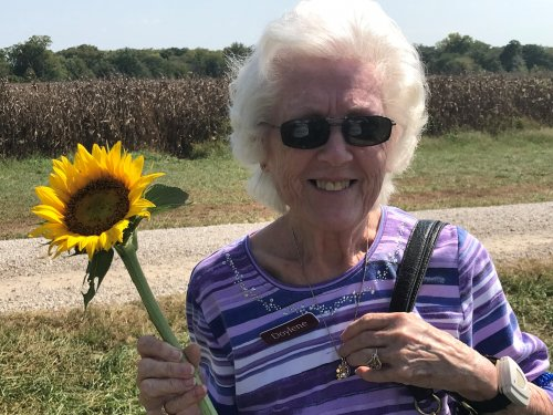 Dolene R. enjoyed our trips to Sunflower patch