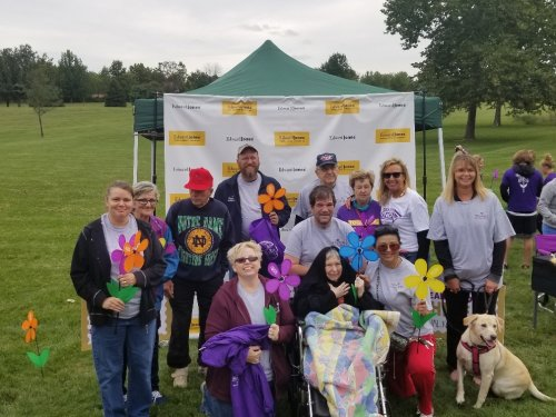 Our Alzheimer's team.  Way to Go