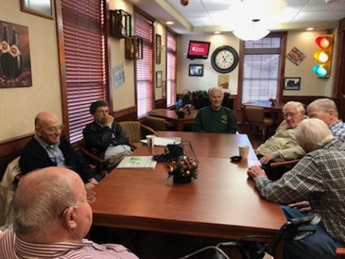 Our Veteran group meets twice a month.  Nothing could bring us more pride than our Veteran's.