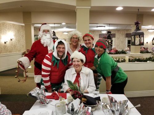 Thank you Bonnie and your helpers for the awesome Christmas party.  We love you!