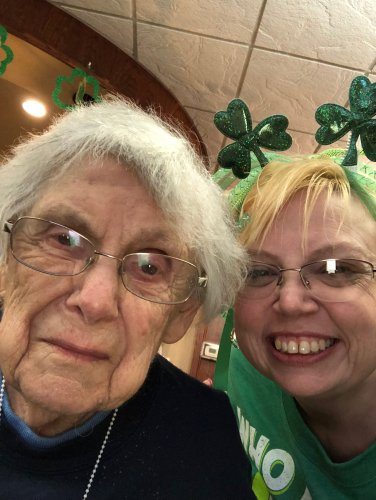 Mary and Jamie at the St. Patty's Party!