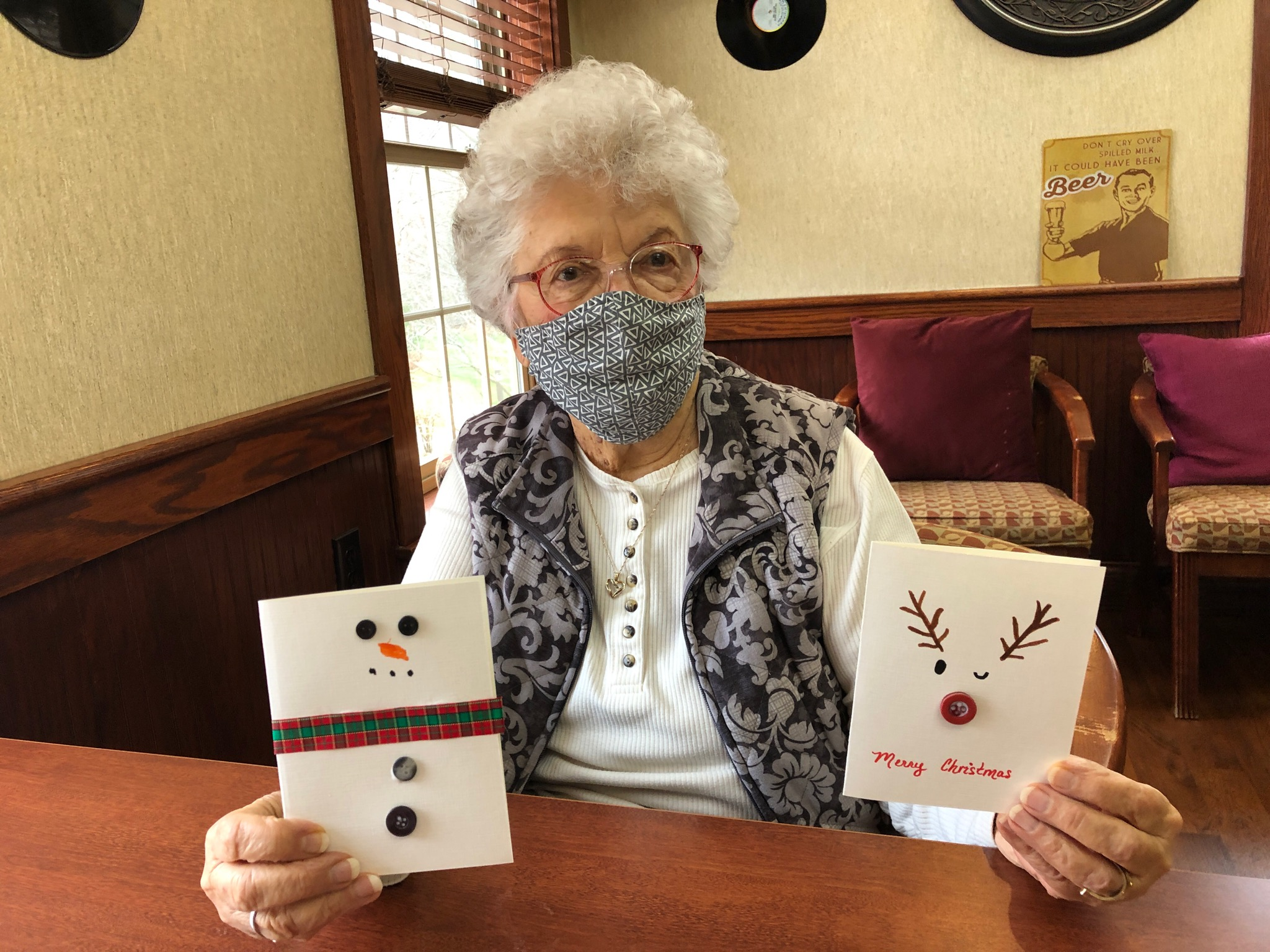 Marilyn loves our Christmas Crafts!