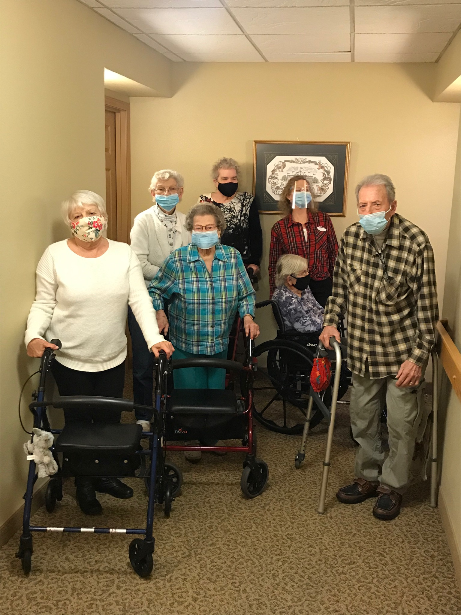 The Kokomo Primrose Carolers love to spread cheer to their community one door at  a time!