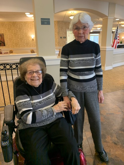 You're winning when you're twining says Grace and Norma.