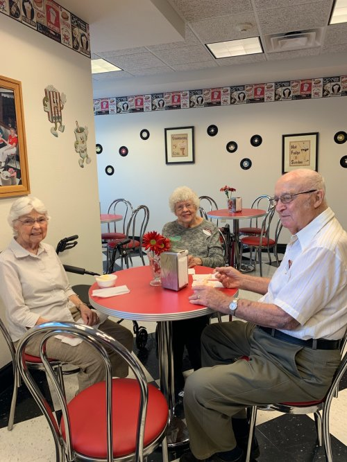 Ice Cream is always a great treat after playing Bingo.