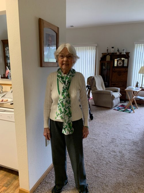 Norma is celebrating St. Patrick's Day!
