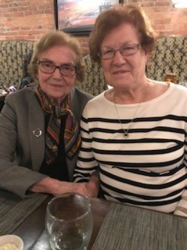 These two have known each for years were neighbors in Lima and now both live at Primrose of Lima.