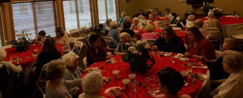 Mother's Day Brunch was enjoyed by all that attended at Primrose Of Lima.