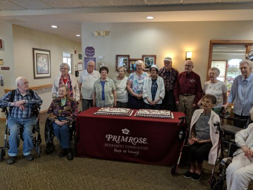 Residents were also incredibly proud to share not only the cake, but the excitement and celebration with everyone!