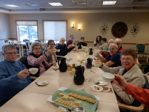 One of the many tea parties at Primrose!