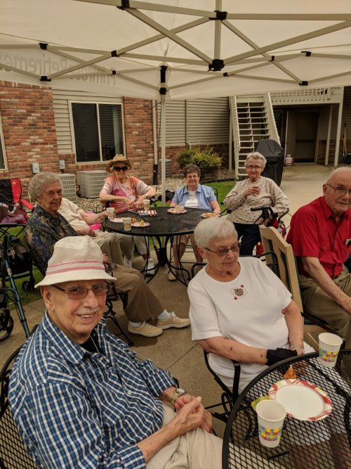 Great time at the Primrose Mankato Beach party!  Not even an overcast day could darken these sunny spirits!