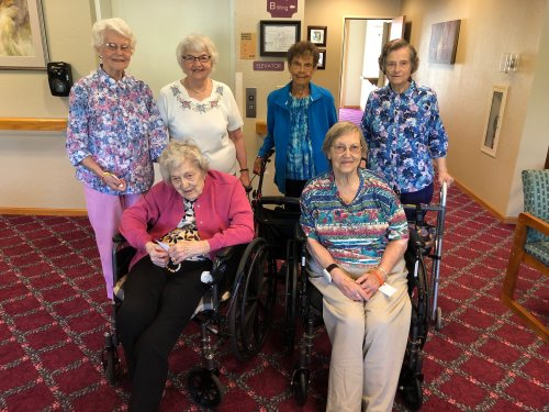 Our residents are so excited for the summer school children to come visit today!