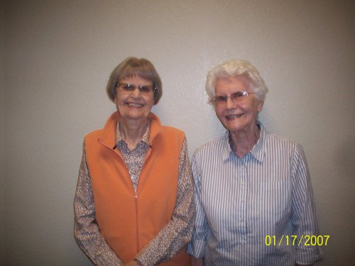 Residents Marilyn and Betty were recognized for all their hard work and dedication to helping others!