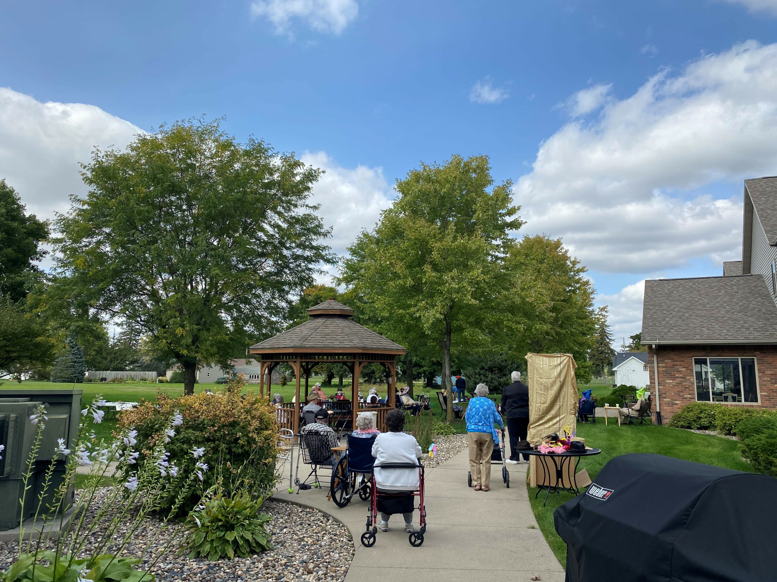 Several residents enjoyed our State Fair Fun celebration to end the summer!