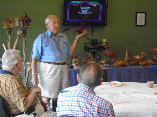 Fathers Day celebration with special speaker Tony on woodworking