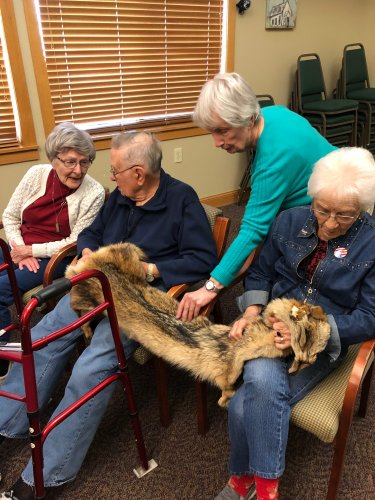 Our residents had the opportunity to learn all about the coyotes of Ohio.