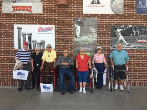 We had a wonderful day watching the Columbus Clippers Baseball game!