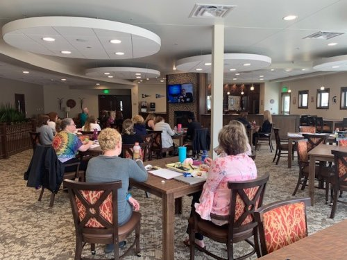 Today was our first day of Orientation for our Nurses, Certified Nursing Assistants and Dining Staff.  We will spend the next 3 weeks getting ready for our residents!