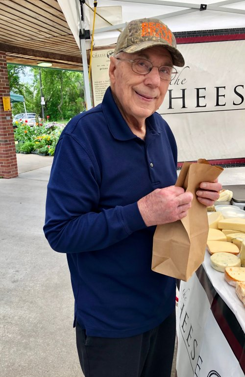 Say 'Cheese' from our local Farmers Market in Midland.