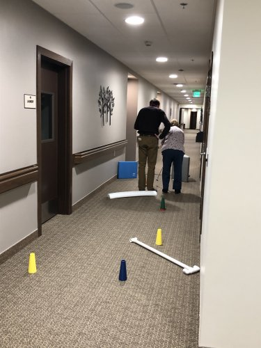 Occupational Therapy obstacle course
