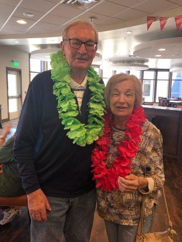 Bud and Marlene enjoying the longest day celebration!