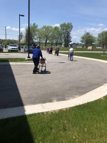 Social Distancing walk