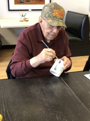 Hal painting Pottery