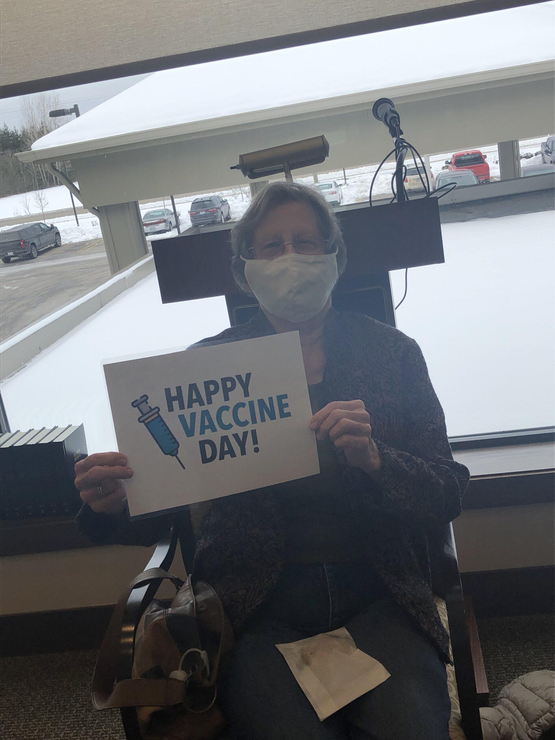 Happy Vaccine Day Sandra