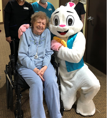 Shirley and the Easter Bunny