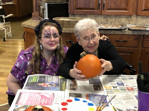 Pumpkin painting time!