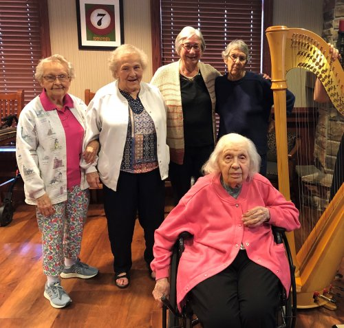 What beautiful music comes from the harp!