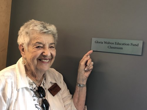 Gloria has a room named after her!