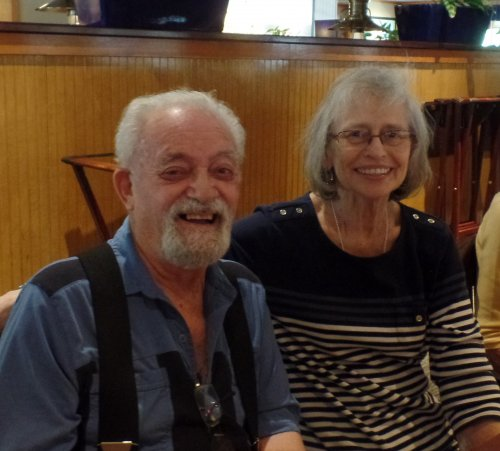 Bob and Betty (brother and sister) enjoy Happy Hour. Bob and Betty are both residents in Kokomo