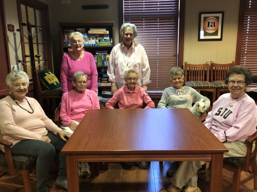 Primrose residents wore pink in honor of Breast Cancer Awareness!