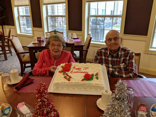 Happy 70th Anniversary Don and Norma!