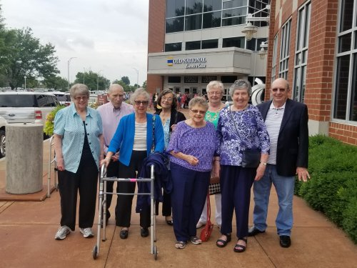 A group of Residents enjoyed going to see Hello Dolly, the musical!