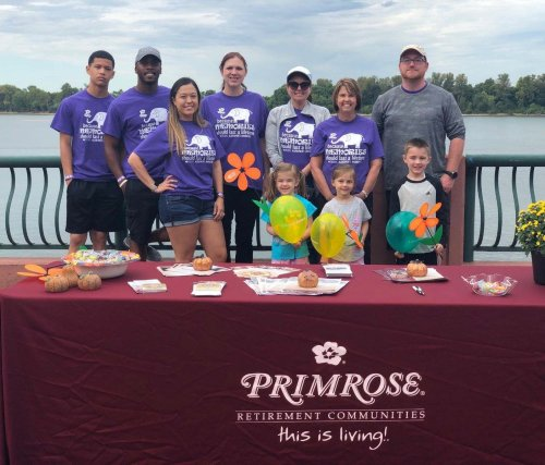 Our Primrose Team at the 2019 Walk to End Alzheimer's.