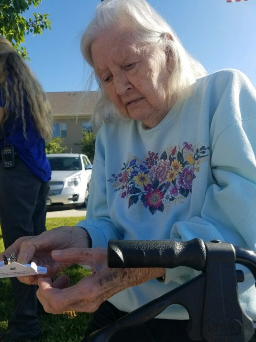 we released butterflies releasing our prayers for the families that are healing from 9/11