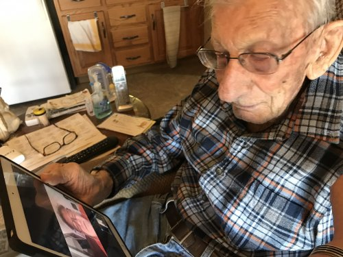 Reaching out to Family with ipads
