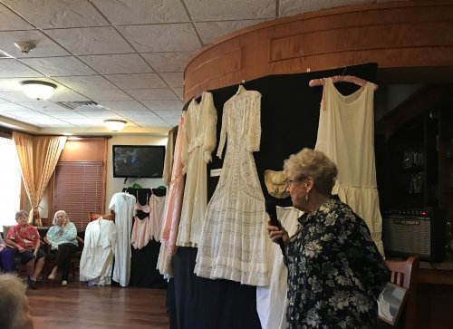 Sharing some lingerie history with the residents